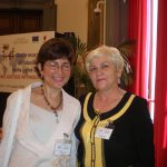 Tamara Chikunova con Stefania Tallei