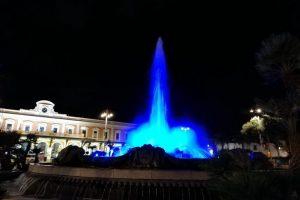Bari, Italia - Fontana Pazza del Moro