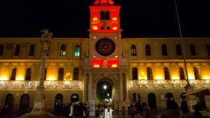 Padova, Italia - la Torre dell'Orologio