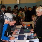 2011: Tamara con i giovani